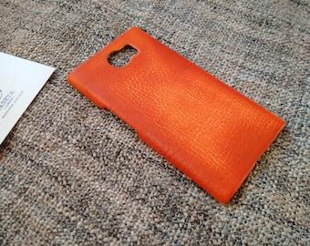 Blackberry PRIV leather snap case 'Old BritTan'