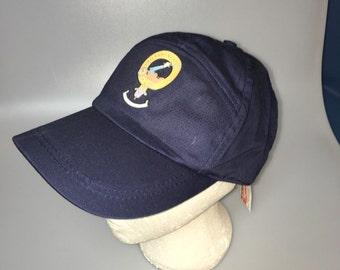 Wallace clan crest baseball cap, navy