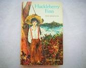 Huckleberry Finn by Mark Twain Modern Abridged Edition 1965 Hardcover