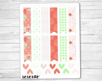 A014 | Green/Red Page Flags