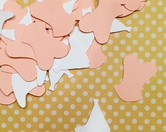 Bridal Shower Confetti, Bridal Gown/Busteie Confetti, Bachelorette Confetti