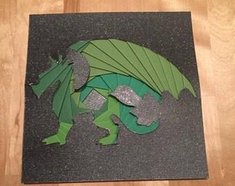 Iris Folded Dragon