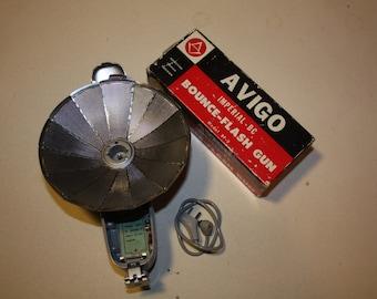 Vintage Avigo Imperial- BC Bounce-Flash Gun