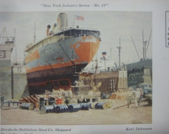 Bethlehem Steel Etsy