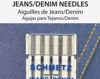 Schmetz Denim Needles 16/100 5 Pack