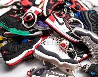 Air Jordan Keychains Jumpman Yeezy Adidas Nike Car Keys Collectible