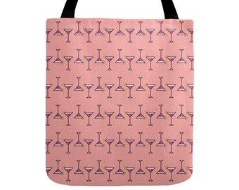 Cocktail Tote Bag - Icon Prints: Drinks Series