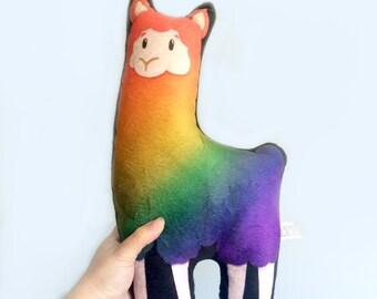 Llama- super soft plushie, stuffed animal