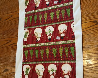 Small Fabric Christmas Table Runner