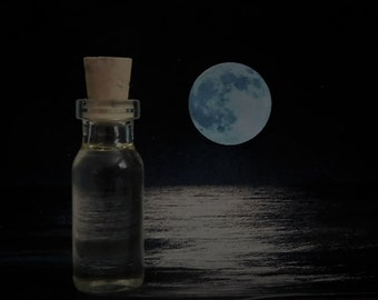 FULL MOON II Oil, Ritual Oil, Potion, Anointing Oil, Moon Oil, Esbat Oil, Fragrance Oil, Wicca, Witchcraft, Hoodoo, Pagan ~ The Beach Witch