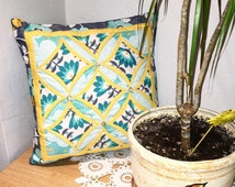 Cathedral Window Cushion/Cushion/Quilted Cushion/Home Decore/Gift