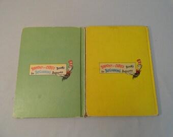 Pair of Dr. Seuss Books For Beginning Beginners