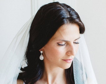 Swarovski wedding earrings Swarovski Crystal Earrings Chandelier Swarovski Bridal Earrings Chandelier Crystal Wedding earrings