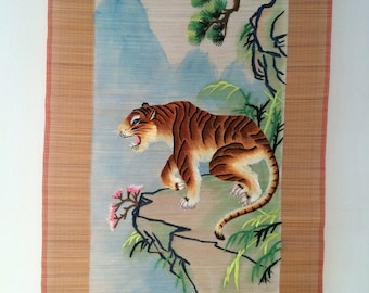 Chinese tiger scroll 2