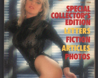 Mature Vintage Best Of Penthouse Forum Mens Girlie Pinup Mini Magazine : Fall 1990