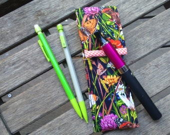 case for electronic cigarette or pen spring flowers