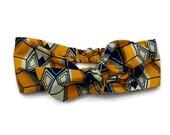 headband to tie African wax, headwrap, African fabric turban headband wax, hair accessorie, headband hair, made in france