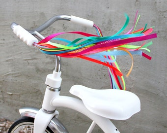Streamers for your Bike, Trike, or Scooter Handlebars - Retro, Cool & Handmade - Carousel Horse