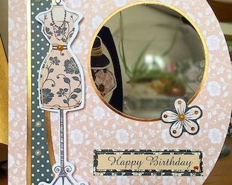 Chic Boutique Birthday Card!