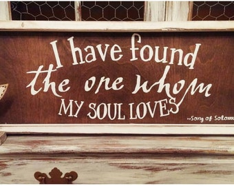 Song of Solomon-I Have Found The One Whom