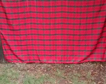 23.  Vintage Christmas Tablecloth
