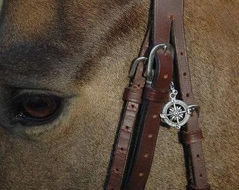 Compass Bridle Charm