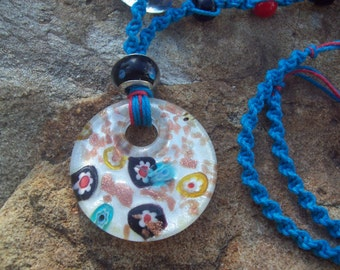 Glass Focal Necklace