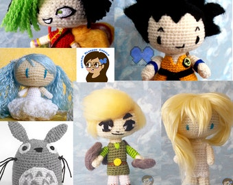 Custom or Character Amigurumi  Commission
