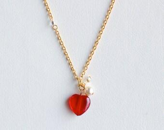 Sweet Heart Girls' Necklace