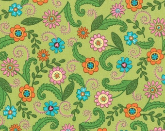 Meadow Friends by Deb Strain (19481-13) Quilting Fabric by the 1/2 Yard