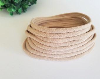 WHOLESALE Nylon Headbands | Bulk Nylon Headbands | Soft and Stretchy Baby Headbands | One Size Fits All