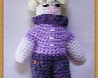 Poppy crochet clown