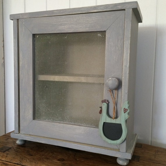 painted vintage french kitchen cabinet bathroom cabinet shabby chic