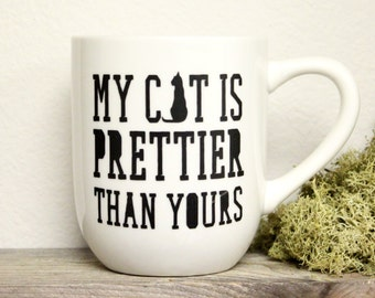 Cat Mug - Funny Mug, Office Mug, Office Humor, Cat Lovers