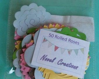 50 rolled rose dies