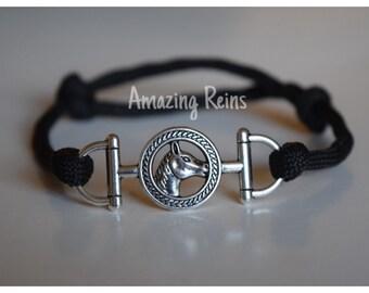 Custom Adjustable Bit Charm Bracelet