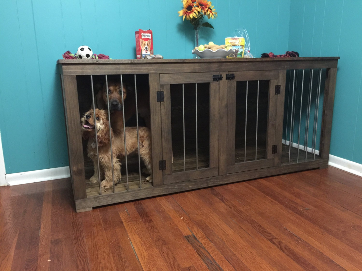 Dog Kennel Etsy Home Interior Catalog, Interior Design Ideas, Design,  Interior Decoration,