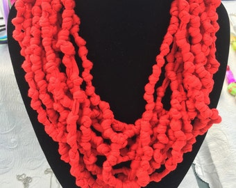 Handcrafted necklaces of various colors one size