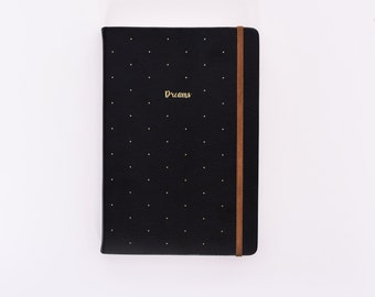 Leather journal/notebook (Ruled paper) - Moleskine inspired