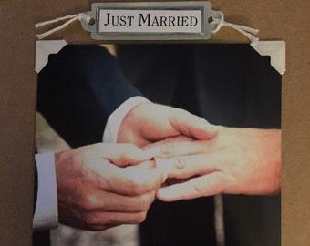 Man to man wedding