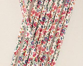 Floral Pattern/Spring/Garden Paper Straws