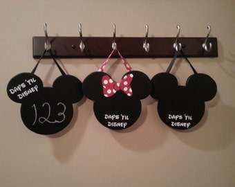 Disney Countdown Mickey & Minnie- Inspired by Walt Disney