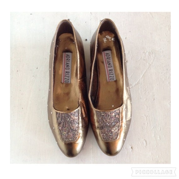 vintage 1980 s 90 s embellished shoes slip on pumps