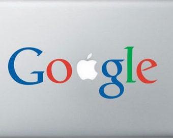 Google Macbook sticker