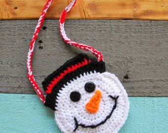 Snowman Purse -Perfect Little Girl's Christmas Gift!