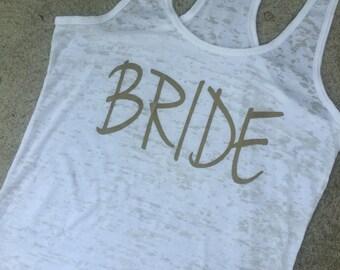 Bride Tank, bride shirt,wedding gift,bridal gift,bride shirts,bride gift,wedding shirts,bride to be,bride tribe,team bride,pretty in pink