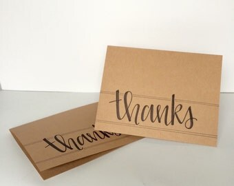 Thanks Card--Pack of 5