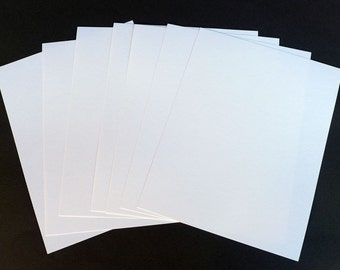 Blank Flat Note Cards, Plain Note Cards Add On, Correspondence Cards, 80lb Card Stock,  Letter Writing Set, Blank Note Sheets