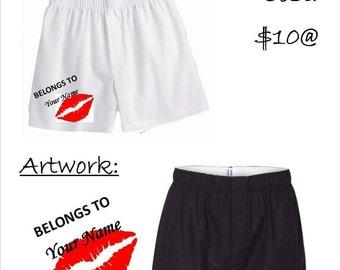 Custom Cute Boxer Shorts!
