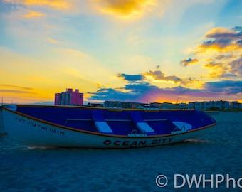 Ocean City New Jersey Sunset